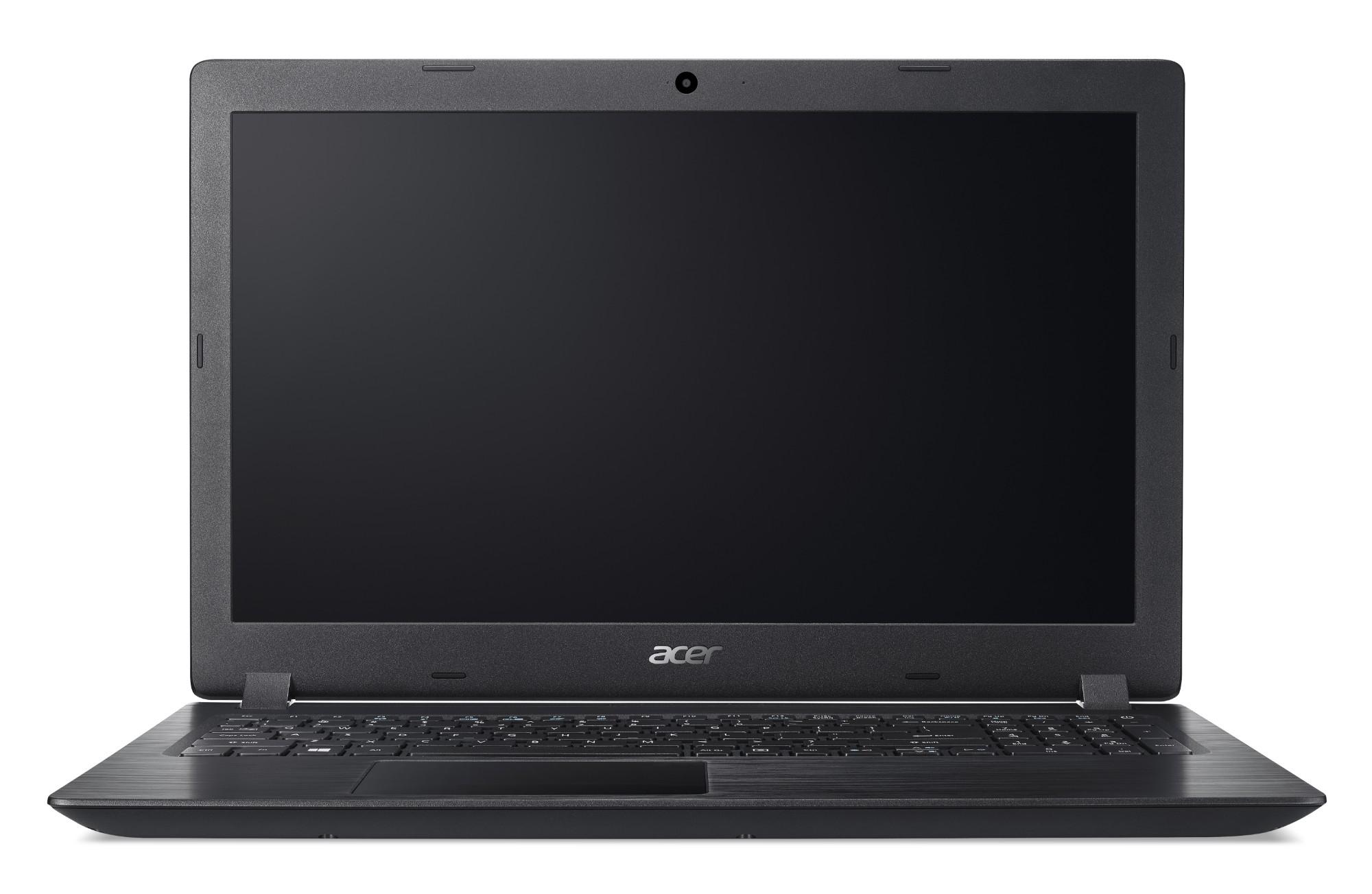 """Acer Aspire A315-51-39GU 2GHz i3-6006U 15.6"""" 1366 x 768pixels Black Notebook"""
