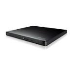 LG SLIM PORTABLE EXTERNAL DVD-RW DRIVE, USB2.0 8X DVD,24X CD WRITE, black