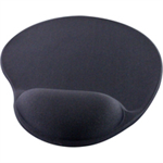 Q-CONNECT Q CONNECT GEL MOUSE MAT CHARCOAL