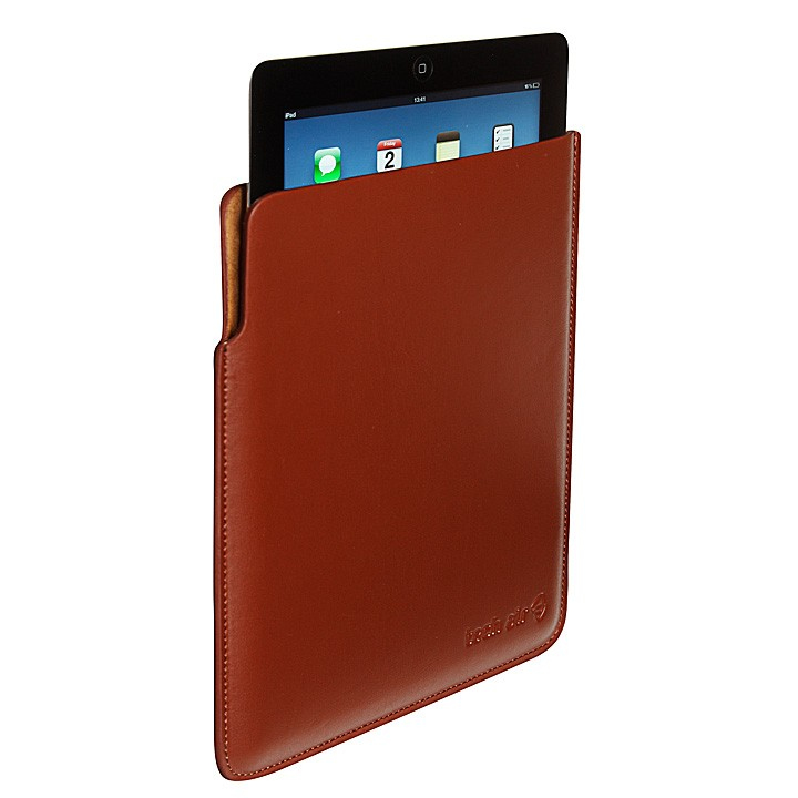 Tech air Apple iPad 2/3/4 Leather Sleeve Cover Case - Brown - (TAXIPSL011)