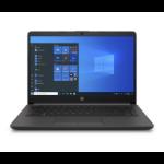 "HP 240 G8 Notebook 35,6 cm (14"") Full HD Intel® 10de generatie Core™ i3 4 GB DDR4-SDRAM 128 GB SSD Wi-Fi 6 (802.11ax) Windows 10 Home Zwart"