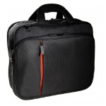 """Eco Style Luxe 15.6"""" Briefcase Black"""