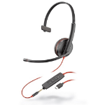 POLY Blackwire 3215 Headset Head-band Black