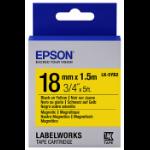 Epson LK-5YB2 Zwart op geel M labelprinter-tape