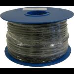 Maximum 32065 coaxial cable 100 m Black