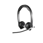 Logitech H820e Binaural Head-band Black headset