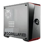Gorilla Gaming Lite v1 - Ryzen 5 3400G 3.7GHz, 8GB RAM, 240GB SSD, AMD Vega Graphics