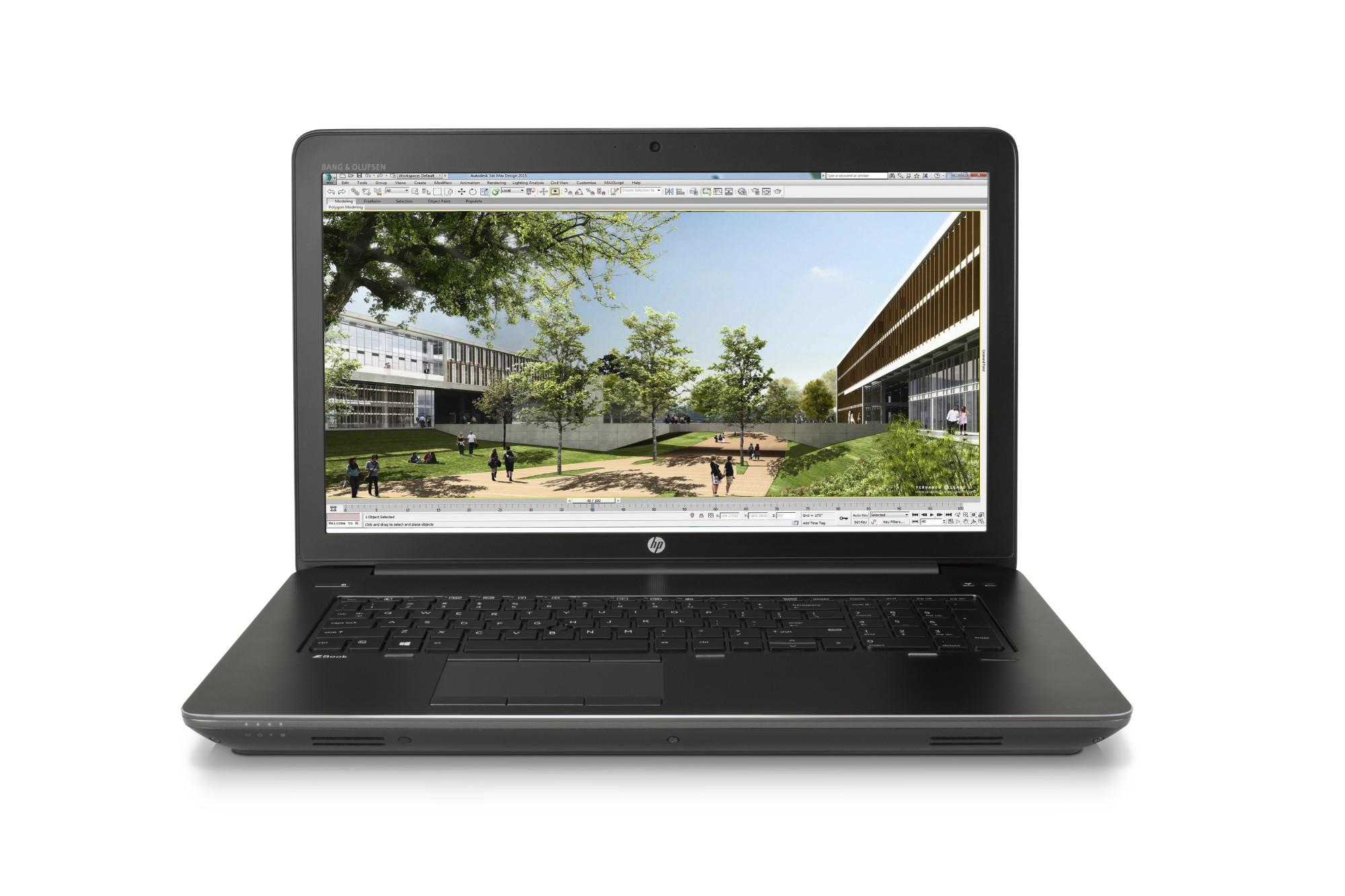 HP Mobile WS ZBook 17 G3 T7V64ETR Core i7-6820HQ 16GB 256GB SSD 17 3IN CAM  Win 7/10 Pro Refurb