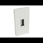 Cables Direct AV-MODUSBA socket-outlet USB White