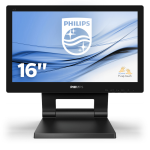 "Philips 162B9T/00 computer monitor 39.6 cm (15.6"") 1366 x 768 pixels LCD Black"