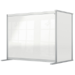 Nobo 1915496 magnetic board Gray, Transparent