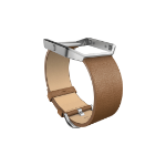 Fitbit FB159LBCMS Band Brown Leather