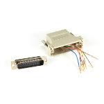 Black Box FA4525M-GY cable gender changer RJ-45 DB25 Grey