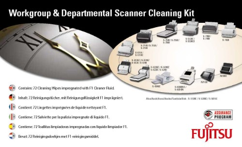 Fujitsu SC-CLE-WGD equipment cleansing kit Equipment cleansing wet cloths Scanners