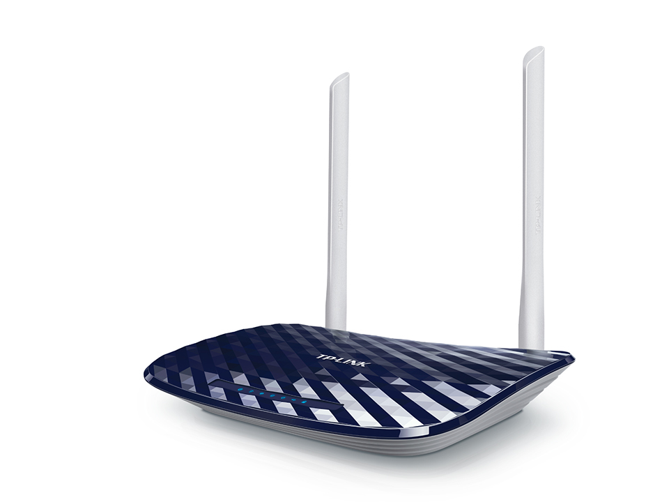 TP-LINK AC750 Dual-band (2.4 GHz / 5 GHz) Fast Ethernet Black, White wireless router