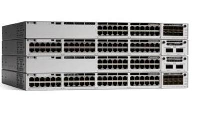 Cisco Catalyst C9300-48P-A network switch Managed L2/L3 Gigabit Ethernet (10/100/1000) Power over Ethernet (PoE) Grey