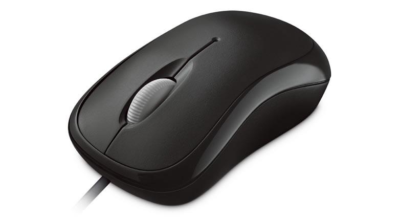 Microsoft Basic Optical Mouse ratón USB tipo A Óptico 800 DPI Ambidextro