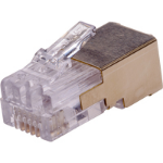 Axis 01182-001 kabel-connector RJ-12 Goud, Wit