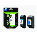 HP SA310AE (15+78) Printhead multi pack, 500 pg + 560 pg, Pack qty 2