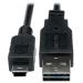 Tripp Lite Universal Reversible USB 2.0 Hi-Speed Cable (Reversible A to 5Pin Mini B M/M), 15.24 cm