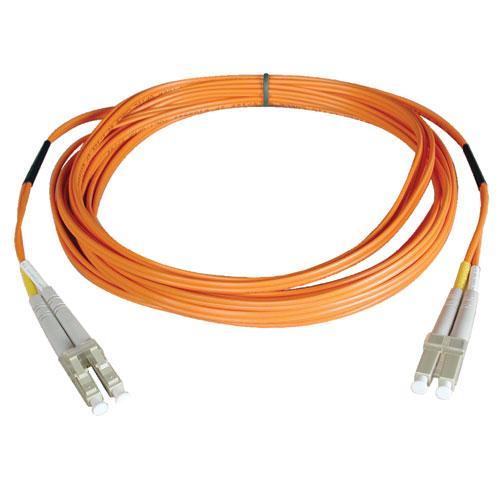 Tripp Lite Duplex Multimode 62.5/125 Fiber Patch Cable (LC/LC), 0.3M (1-ft.)
