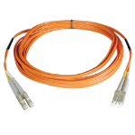 Tripp Lite Duplex Multimode 62.5/125 Fiber Patch Cable (LC/LC), 0.3M (1-ft.)