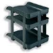 Rexel Agenda2 Height Risers Letter Tray A4 Charcoal (5)