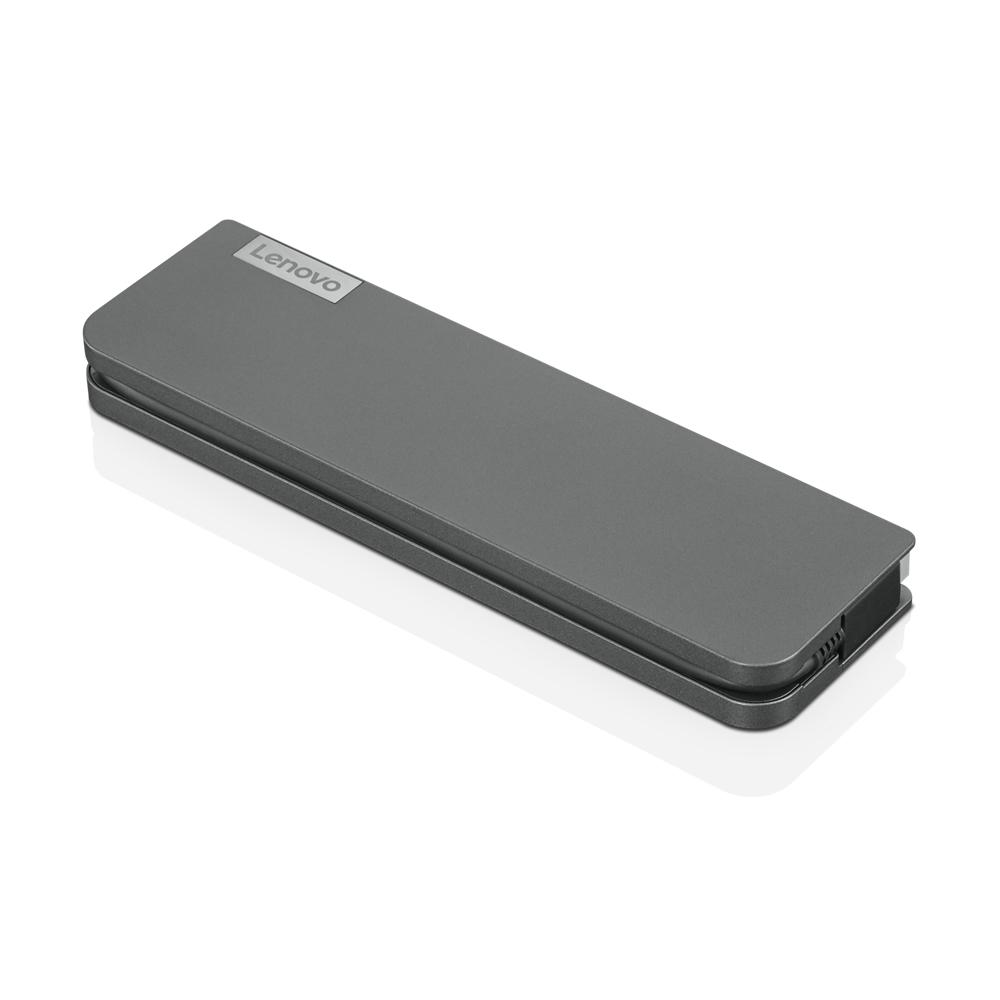 Lenovo USB-C Mini Dock Alámbrico USB 3.2 Gen 1 (3.1 Gen 1) Type-C Gris