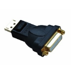 Astrotek DisplayPort - DVI-I M/F Black