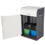 lockncharge Carrier 10 Portable device management cabinet Blue, Green, Grey, White