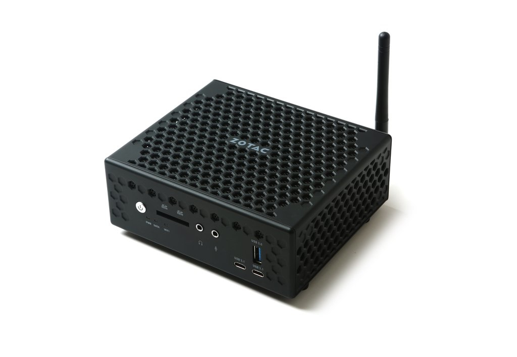 Zotac CI547 Nano Intel SoC BGA 1356 2.50GHz i5-7200U 1L sized PC Black