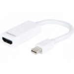 Hypertec 127387-HY cable interface/gender adapter Mini DisplayPort HDMI White