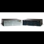 Cisco 3925 wired router Gigabit Ethernet Black