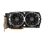 MSI V328-023R GeForce GTX 1060 6GB GDDR5 graphics card