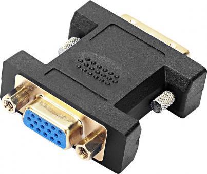 SPEEDLINK SL-170009-BK cable gender changer DVI VGA Black