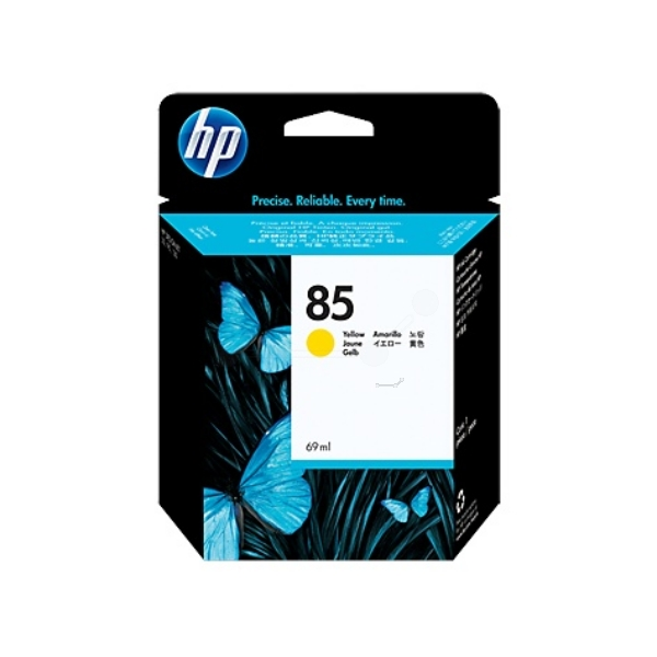 HP C9427A (85) Ink cartridge yellow, 69ml
