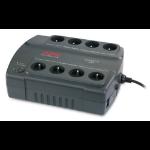 APC Back-UPS 400, FR Unterbrechungsfreie Stromversorgung UPS 400 VA 8 AC-Ausgänge Standby (Offline)
