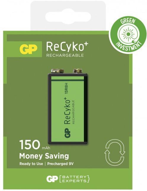 GP Batteries GP RECYKO RECHARGABLE 9V/6F22