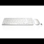 Accuratus Minimus X keyboard RF Wireless QWERTY English White