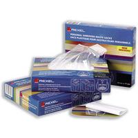Rexel Plastic Waste Bags for Wide Entry Shredders 175L (100) paper shredder accessory