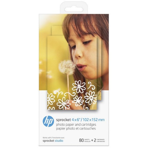 HP 4KK83A Photo cartridge, Pack qty 80
