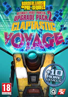 Nexway Borderlands The Pre-Sequel: Claptastic Voyage and Ultimate Vault Hunter Upgrade Pack 2 (DLC) Video game downloadable content (DLC) PC Español