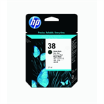HP C9412A (38) Ink cartridge black matt, 850 pages, 27ml