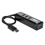 Tripp Lite 4-Port Portable USB 3.0 SuperSpeed Hub