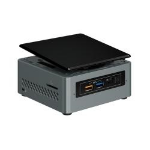 Intel NUC BOXNUC6CAYH PC/workstation barebone J3455 1.50 GHz UCFF Black, Gray BGA 1296