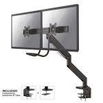 "Newstar NM-D775DXBLACK flat panel desk mount 81.3 cm (32"") Clamp Black"