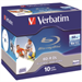 Verbatim BD-R DL 50GB 6x Wide Printable 10pk