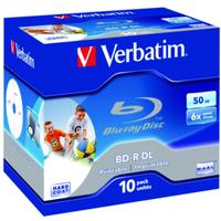 Verbatim 43736 blank Blu-Ray disc BD-R 50 GB 10 pc(s)