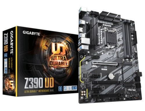 Gigabyte Z390 UD motherboard Intel Z390 LGA 1151 (Socket H4) ATX