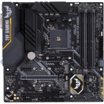ASUS TUF B450M-PRO GAMING moederbord Socket AM4 Micro ATX AMD B450